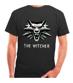 T-shirt The Witcher black, short sleeve