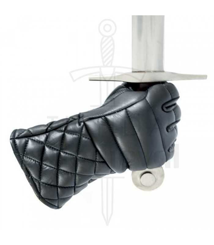 Gloves leather padded practice HEMA Red Dragon