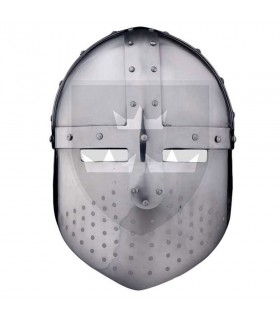 Cap Medieval Spangenhelm, s. XII-XIII