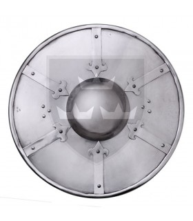 Shield Reinforced for a fighting recreation, 38 cms.