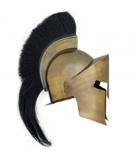Helmet, Spartan Greek with plume
