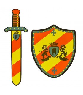 Kit shield and sword tournament for children