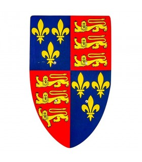 Royal coat of arms in wood for children