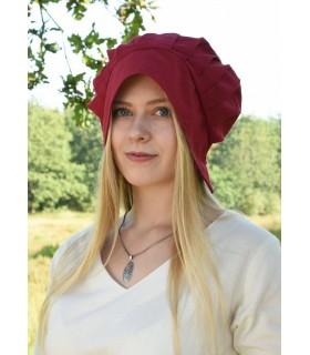 Bonnet Mediaeval Women with folds, various colors