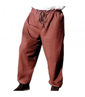 Pants medieval with cord