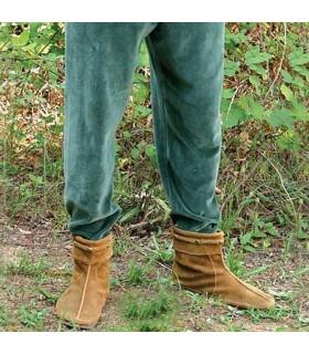 Pants medieval velvet elastic