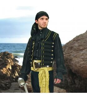Vest Pirate in velvet