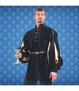 Shirt Renaissance Cavalier, velvet