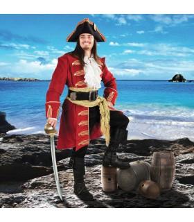 Coat of Captain Morgan in velvet