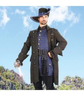 Coat pirate Blackbeard