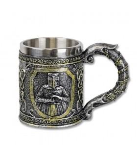 Cup decoration Templars