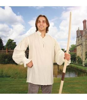 Shirt medieval Feast, cream