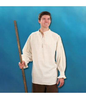 Shirt of a Feudal Lord hand-stitched