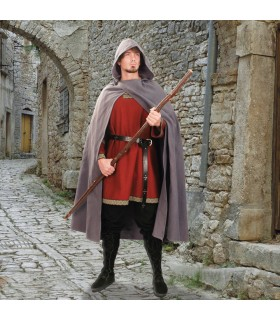 Cloak medieval hooded