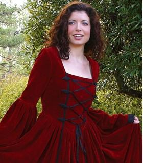 Dress Renaissance-Scarlett