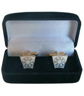 Cufflinks Masonic keystone Mark Degree with jeweler