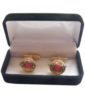 Cufflinks Masonic Cross master Scottish St. Andrew with jeweler