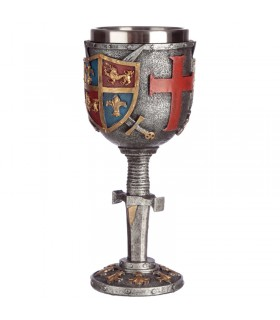 Glass Decorative Coat-of-Arms Medieval