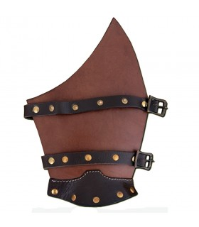 Bracelets leather straps for LARP, pair