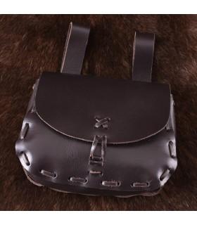 Bag medieval in cow skin