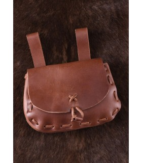 Bag medieval reversible bovine leather