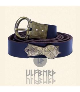 Belt medieval leather ornate