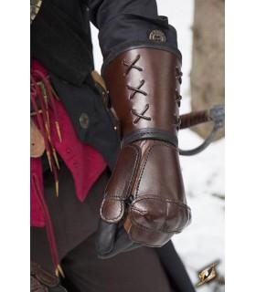 Gauntlet, leather, left arm (1 unit)