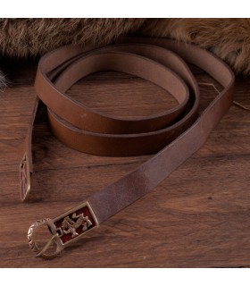Belt long medieval with lions