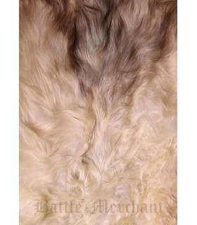 Sheep skin nordic light color, 110 cms.