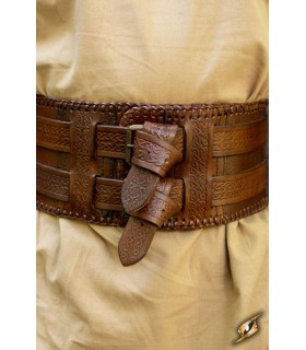 Belt Barbarians double closure