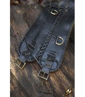 Belt medieval width, double seal