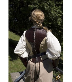 Corset medieval leather Rogue