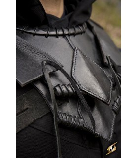 Gorjal Elf Black Leather