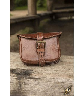 Bag medieval warrior small leather