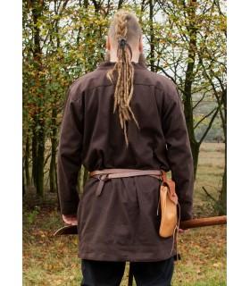 Tunic Viking Klappenrock Bjorn brown