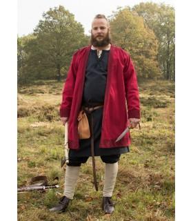 Tunic Viking Klappenrock Bjorn in red