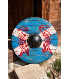 Shield viking Iarla Huginn and Muninn