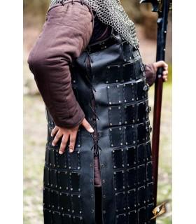 Brigantina medieval long leather