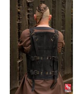 Armor viking leather-black