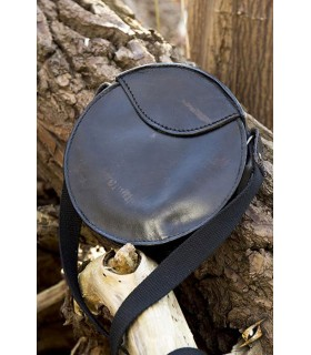 Bag medieval round with strap