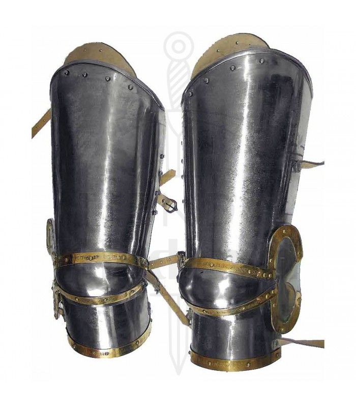 Armored Warrior Carbon Steel Arm Vambraces Bracers Medieval Knights Armor
