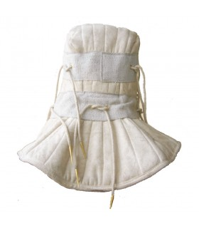 Gorjal hood and padded