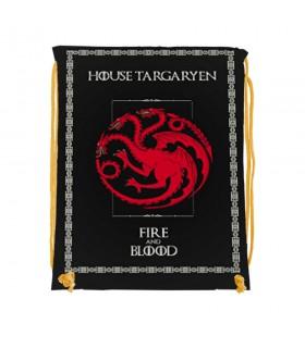 Backpack strings Targaryen of Game of Thrones (34x42 cm.)