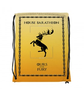 Backpack strings House Baratheon from Game of Thrones (34x42 cm.)
