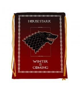 Backpack strings House Stark of Game of Thrones (34x42 cm.)