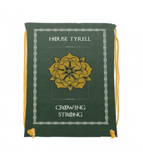 Backpack strings House Tyrell of Game of Thrones (34x42 cm.)