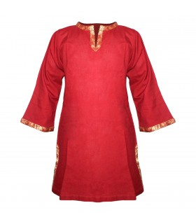 Tunic medieval with touches of