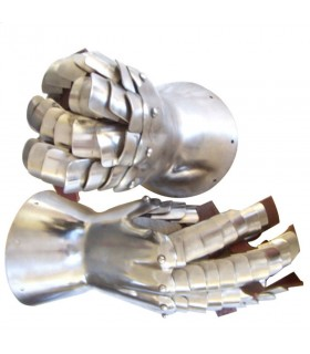 Gauntlets medieval of the FOURTEENTH century