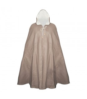 Cloak medieval without the cross, wool