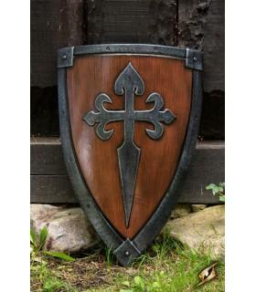 Shield Crusader LARP, 70 x 50 cm